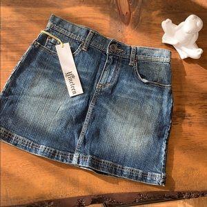 Vintage Nineteen denim mini skirt